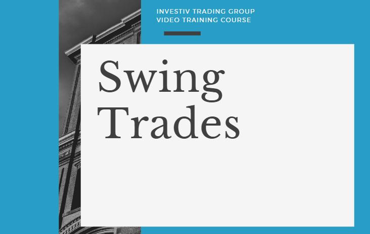 Jesse Webb - Swing Trades
