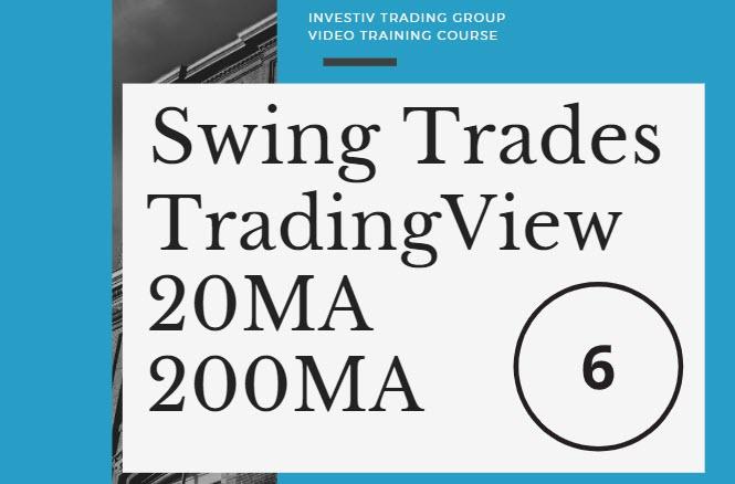 swing trades tradingview 20ma 200ma